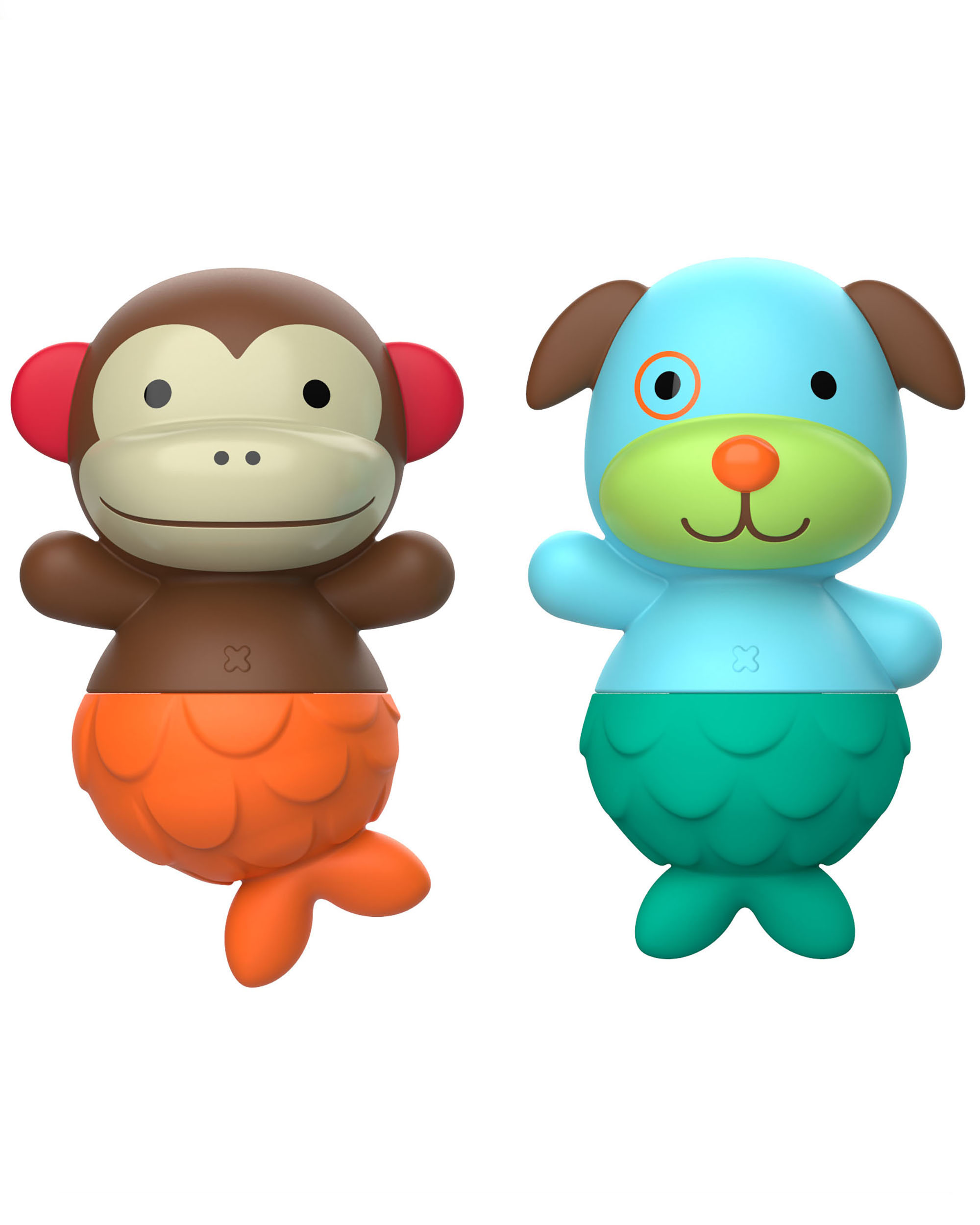 ערבב והתאם זנבות- קוף וכלב